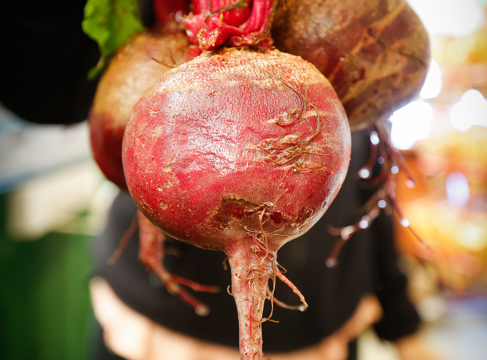 Homegrown beets